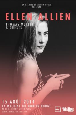 La Machine du Moulin Rouge présente Ellen Allien