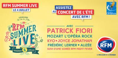 RFM Summer Live sur l'île de la Jatte : gagnez vos invits !