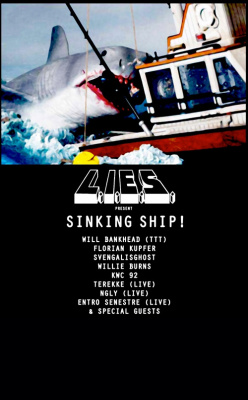 Sinking Ship ! L.I.E.S Records Club au Batofar