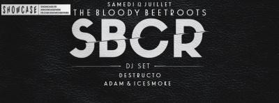 SBCR (THE BLOODY BEETROOTS) en DJ Set au Showcase