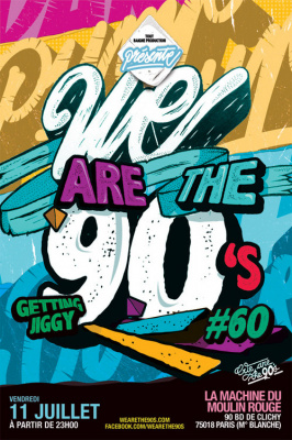 We Are The 90's #60 à la Machine