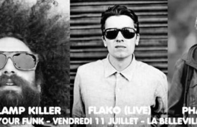 Free Your Funk à La Bellevilloise avec The Gaslamp Killer