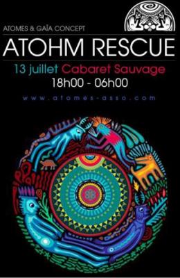 Athom Festival Rescue au Cabaret Sauvage