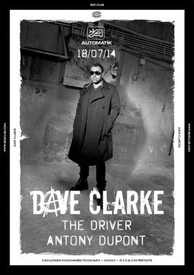 Dave Clarke au Rex Club