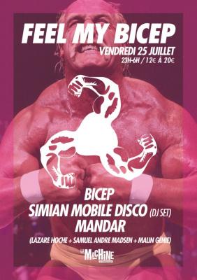 Feel My Bicep à la Machine avec Simian Mobile Disco