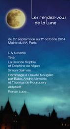 Festival Les Rendez-vous de la Lune 2014 à la Mairie du 4ème