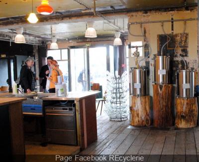 la recyclerie paris bar restaurant ateliers. Black Bedroom Furniture Sets. Home Design Ideas