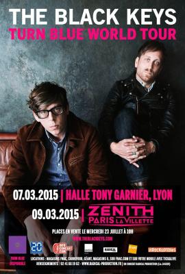 The Black Keys en concert au Zénith de Paris en 2015