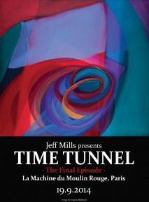 Jeff Mills présente Time Tunnel #4 à la Machine du Moulin Rouge
