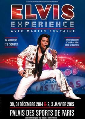 Elvis Experience avec Martin Fontaine au Palais des Sports de Paris