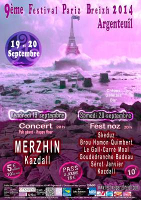 Festival Paris Breizh 2014 à Argenteuil