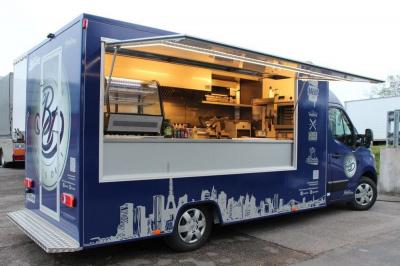 Le Bud's Deli Restaurant food truck s'installe à La Javelle