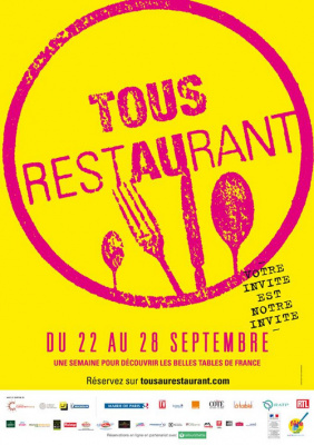 Tous au Restaurant 2014 à Paris