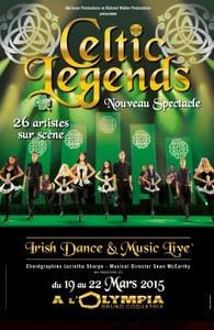 Celtic Legends à l'Olympia de Paris en 2015