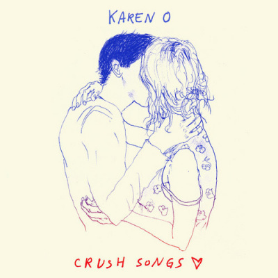 "Sortie du premier album solo de Karen O ""Crush Songs"""