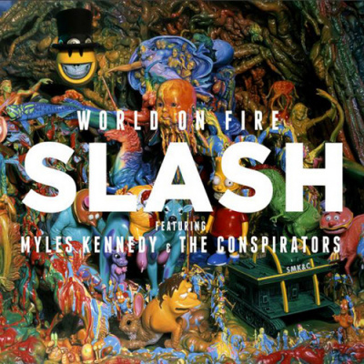 "Sortie du nouvel album de Slash ""World on fire"""