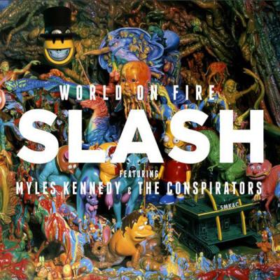 """Sortie du nouvel album de Slash """"World on fire"""""""