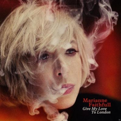 """Sortie du nouvel album de Marianne Faithfull """"Give my Love to London"""""""