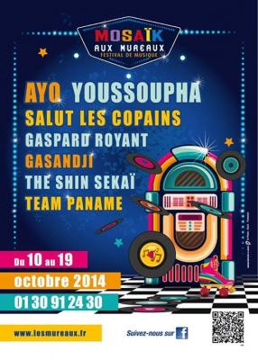 Festival Mosaïk 2014 aux Mureaux
