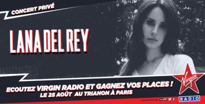 Lana Del Rey en concert privé Virgin Radio au Trianon de Paris