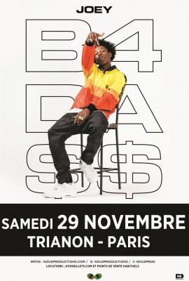 Joey Badass en concert au Trianon de Paris