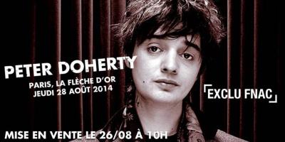 Pete Doherty en concert surprise à la Flèche d'Or le 28 août