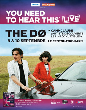 The Dø en concerts au Centquatre en septembre 2014