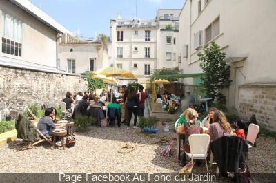 Au fond du jardin restaurant bar et terrasse cach e for Restaurant au jardin paris