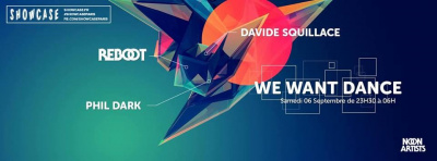 We Want Dance au Showcase avec Davide Squillace