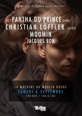Pantha du Prince et Christian Löffler à la Machine