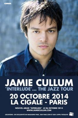 Jamie Cullum en concert à La Cigale de Paris en octobre 2014