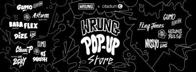 Pop up Store Wrung au Citadium