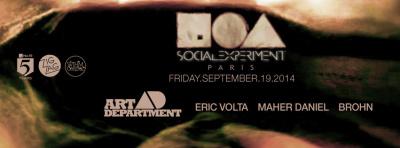 Social Experiment au Zig Zag Club avec Art Department