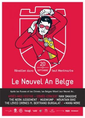 Le Nouvel An Belge 2014 à Montmartre