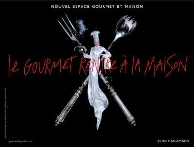 Ouverture du nouveau magasin Galeries Lafayette Maison et Gourmet