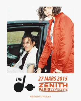 The Dø en concert au Zénith de Paris en 2015