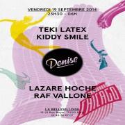 La Denise #2 à La Bellevilloise avec Teki Latex et Lazare Hoche