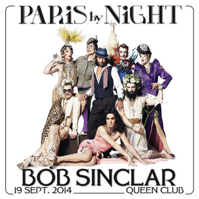 Bob Sinclar au Queen Club Paris le 19 septembre 2014