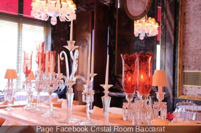 La Cristal Room Baccarat dévoile sa carte d'automne