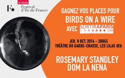 Rosemary Standley & Dom La Nena en concert au Théâtre du Garde Chasse : gagnez vos places !