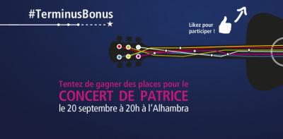 Patrice en concert privé à l'Alhambra de Paris