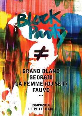 Block Party avec Fauve au Petit Bain