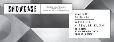 Wedidit X Tealer Kush au Showcase avec Ryan Hemsworh