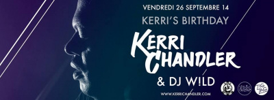 Kerri Chandler's Birthday au Zig Zag Club