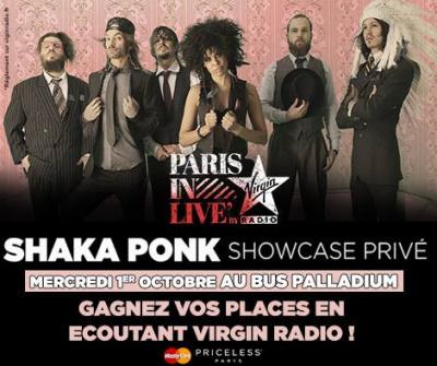 Shaka Ponk en showcase privé au Bus Palladium : gagne ta place !