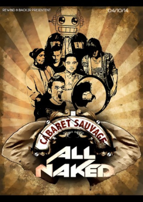 All Naked 2.0 au Cabaret Sauvage avec Antiserum et Brawler