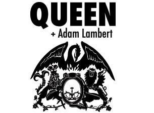 Queen avec Adam Lambert en concert au Zénith de Paris en 2015