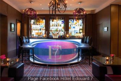 L'E7 : le bar à cocktails de l'Hôtel Edouard 7