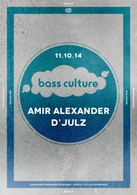 Bass Culture au Rex Club avec Amir Alexander