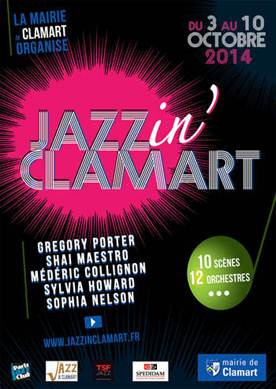 Jazz in Clamart 2014 dévoile son programme